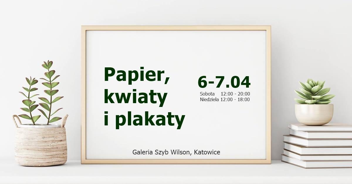 Papier Kwiaty Plakaty śląsk