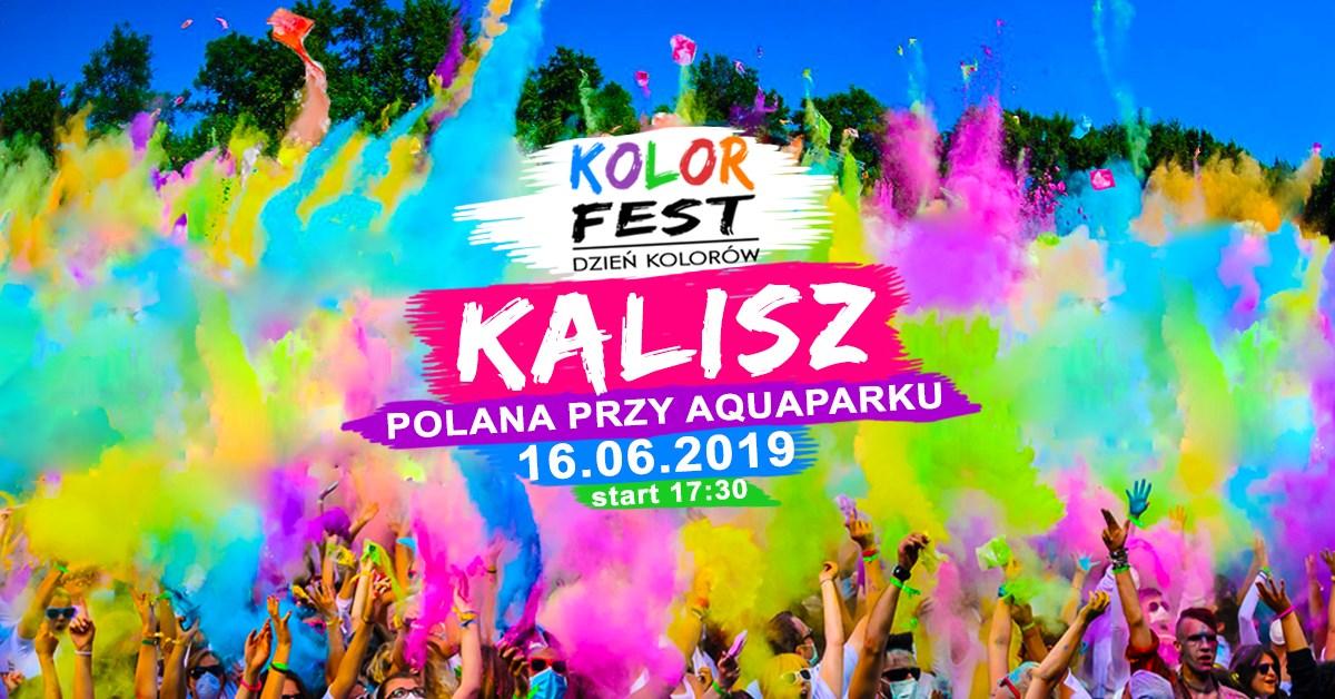 Kolor Fest Kalisz - Dzień Kolorów w Kaliszu @ ul. Sportowa 10