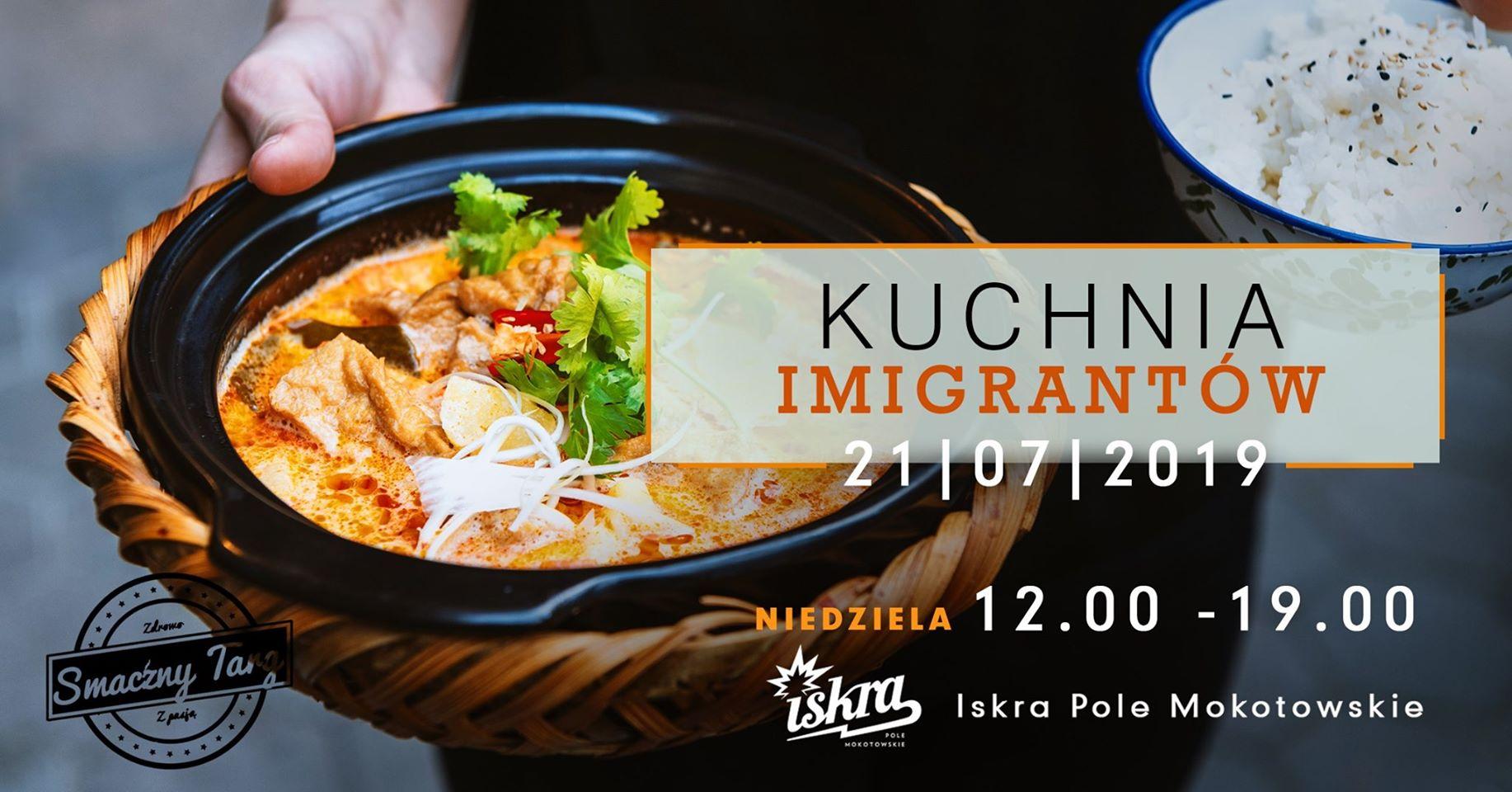 Kuchnia Imigrantów Piknik Międzykulturowy
